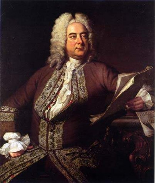 Georg Friedrich Hndel; portrait by Thomas Hudson