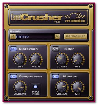 The CamelCrusher - A Plug-In to apply the Distortion Effect on Vocal Files