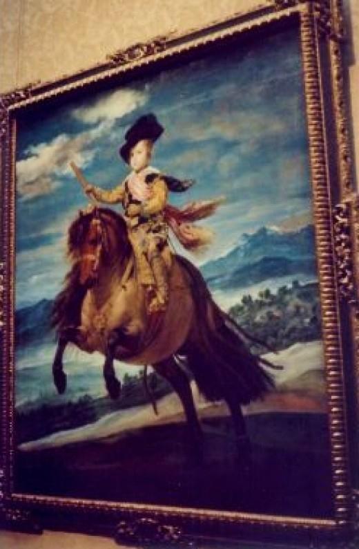Prince Baltasar Carlos, Equestrian - 1634-35