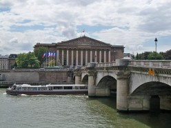 National Assembly building, by the Seine River, Paris