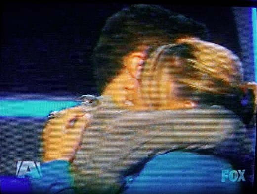 Scotty and Lauren so happy for each other. - American Idol 2011 Top 3 Results May 19, 2011