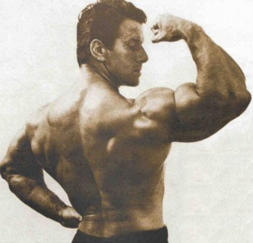 Reg Park is one of the greatest natural bodybuilders