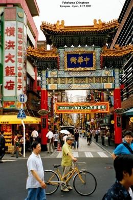 Yokohama Chinatown.