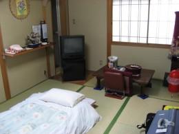 Room in ryokan.