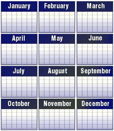 Mark the treatment day on your calendar!