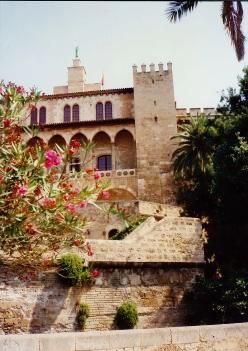 Almudaina Palace - military headquarters now for the Balearic Island region