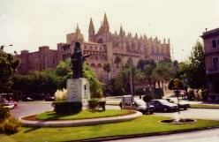 View of Cathedral and Palace