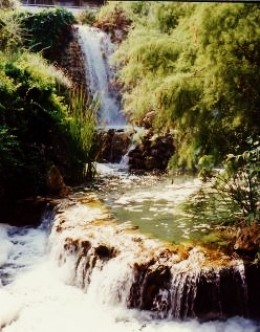 Sound and beauty of splashing water