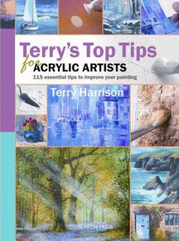 acrylic painting instruction books