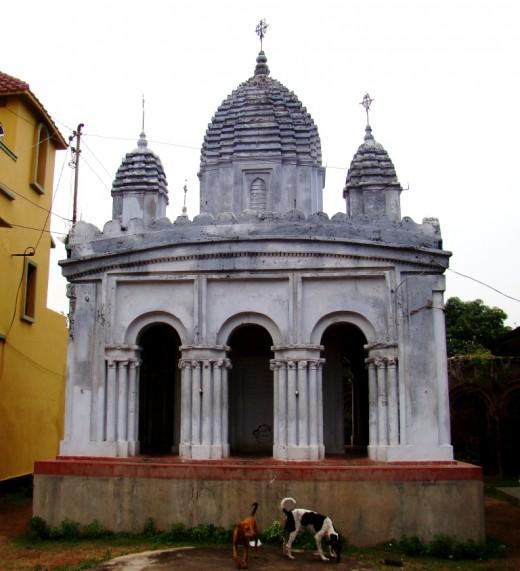 Rasmancha of Radha Madhav temple