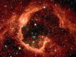 RCW 79, nebula and bubble (70 light years in diameter), 17,200 light years from Earth in Centaurus.