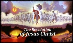 Jesus coming to defeat Satan at the Battle of Armageddon.