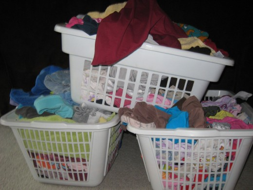Thank goodness FlyLady finally adresses laundry.  Mine was beginning to pile up.