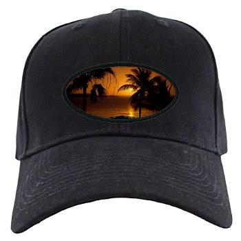 Grace Bay Sunset Black Cap