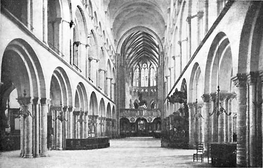 Nave, Tournai Cathedral