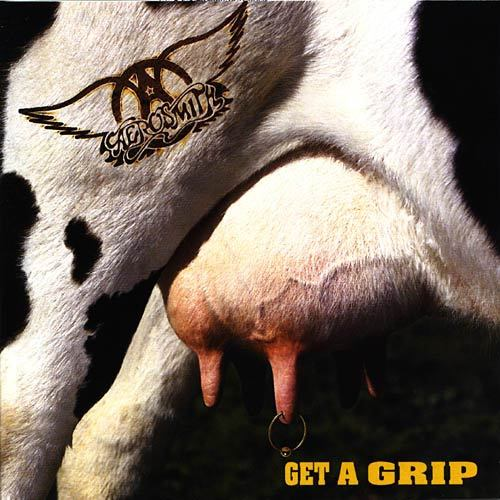 """Get A Grip 1993. Aerosmith is an America Greatest's Rock and Roll Band or known as """"Bad Boy Boston""""."""