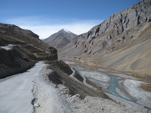See the road from Srinagar to Leh - It's not so good as the Manali to Leh road.