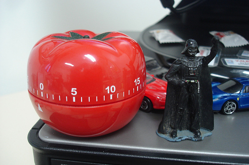 The Tomato Timer Will Enforce Short Lessons.