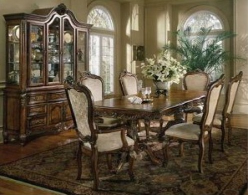 French Provincial dining setting