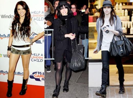 dersramerep: combat boots for girls
