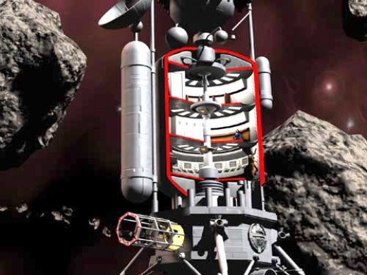 The future of mining is among the asteroids and the stars. There are already plans in action for the moon and earth crossing asteroids.