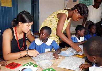 Teacher Volunteer in Africa