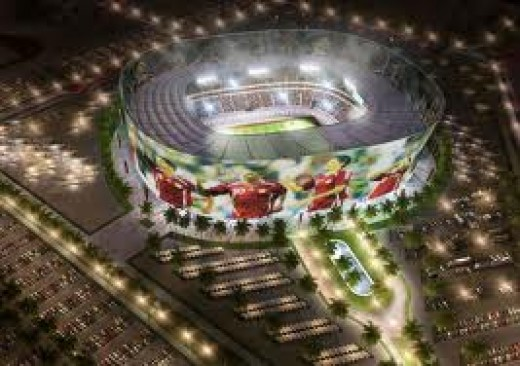 Qatar Stadium Football
