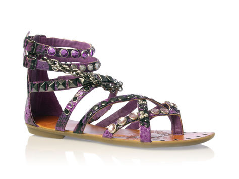 Jeweled summer sandals by Carvela