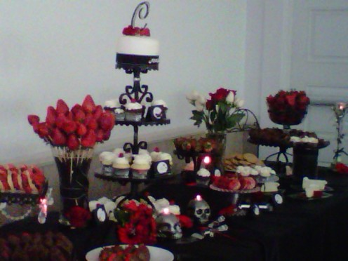 Dessert table is perfect for any event.