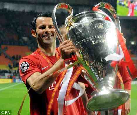 Ryan Giggs having a good day!