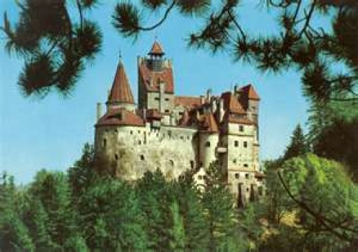 Home of Dracula in Romania