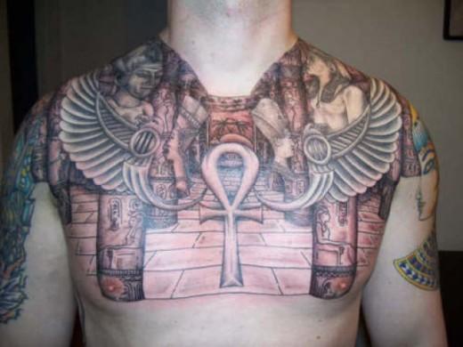 Mystical Egyptian Tattoos