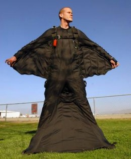 In case you're sent back, there is always the flying suit for the return from the rapture.