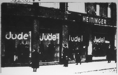 Boycotting of Jewish shops in Berlin 1933