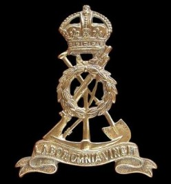 The Pioneer Corps cap badge