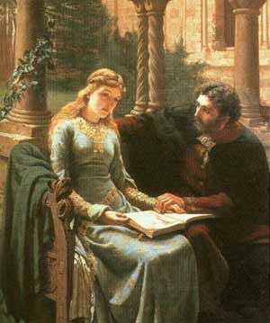 Abelard about to abuse his position of trust.
