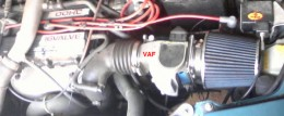 Example of just changing the Air Filter from stock to non-stock