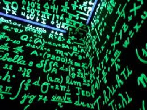 EXHIBIT B: Alien language, otherwise known as Math, plotting in their secret language!