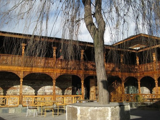 Naggar castle just 25 kilometers from Manali. Away from the mad crowd of Manali Mall Road.