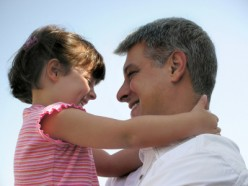 The bond of a father and his daughter is pure magic.