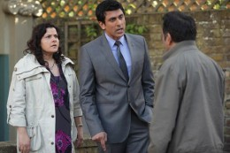 Things dont get any better for Masood when he runs into his wife with Yusef