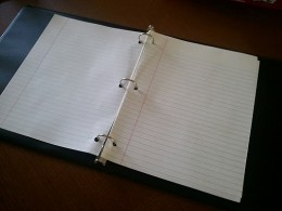Yes, this is my Control Journal...it is basically empty.