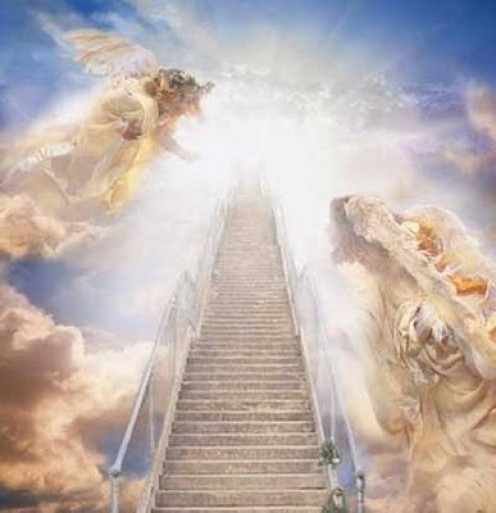 The way to Heaven..Jesus will bring his church home to Heaven when the Rapture takes place.