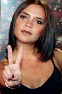 Victoria Beckham's Spice Girl's bob