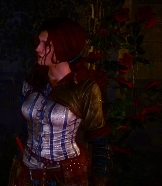 Witcher 2 Roses of Remembrance - Getting Intimate with Triss Merigold
