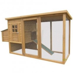 Should I buy a fir-wood chicken coop from Ebay?