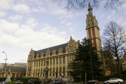 Free University of Brussels clock tower, Solbosch, Brussels