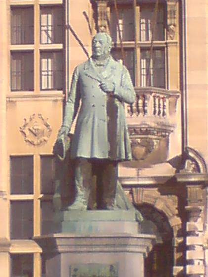 Statue of Theodore Verhaegen, Brussels