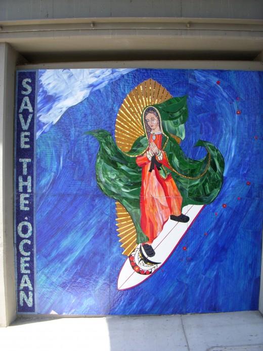 Surfing Madonna  5/24/2011