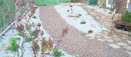 Walkway and Shade Garden